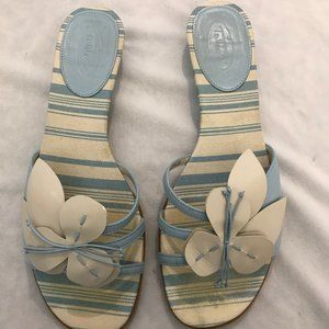 Talbots Paris - Light Blue - Sandals - Size 8.5M